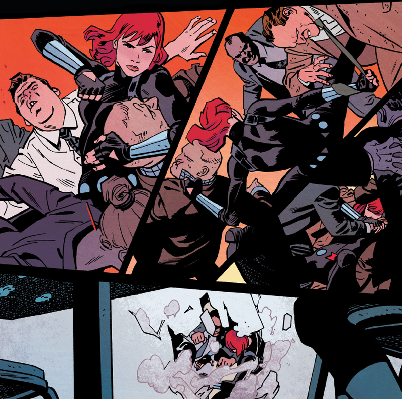 Black Widow's New Comic Begins With An Incredible Love