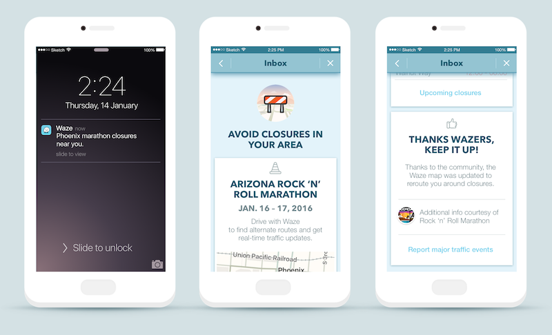 Waze Will Soon Start Warning You Ahead Of Time About Sports Events And Marathons