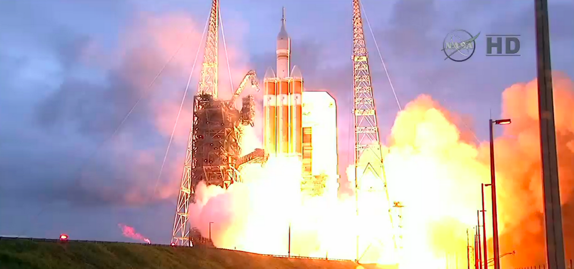 Watch NASA's Second Orion Test Flight Attempt (Update: Back Safe!)