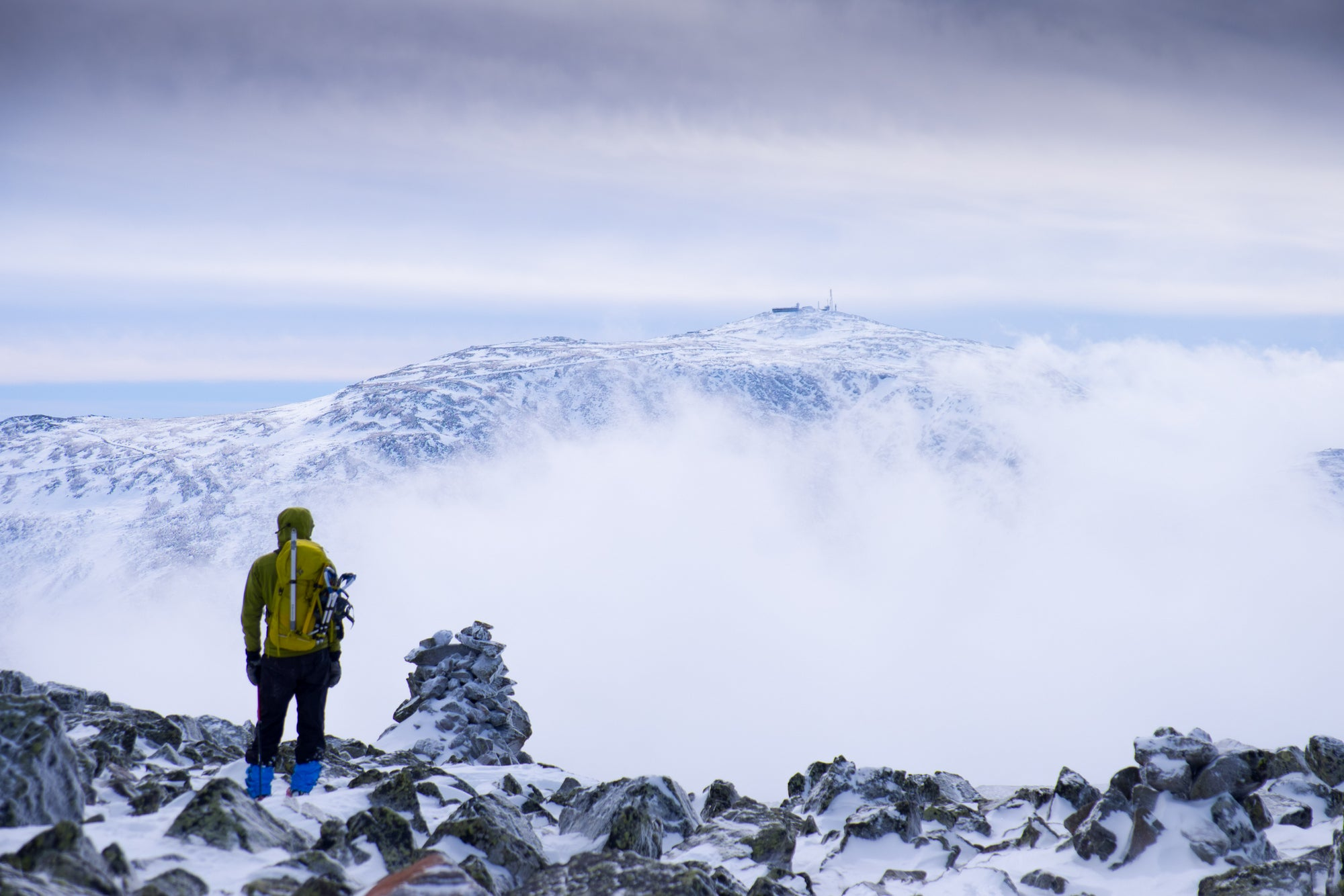 I Climbed The Windiest Mountain In The World, In Winter