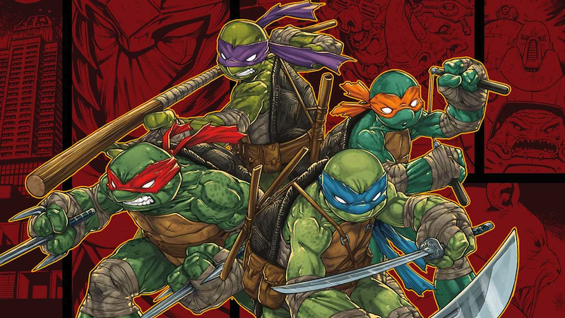 Teenage Mutant Ninja Turtles Game Leaks So Much There's No Need To Announce It