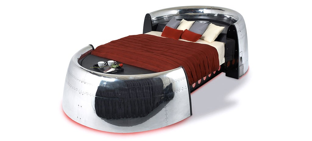 You Can Finally Fulfil Your Fantasy of Sleeping Inside a 747 Engine