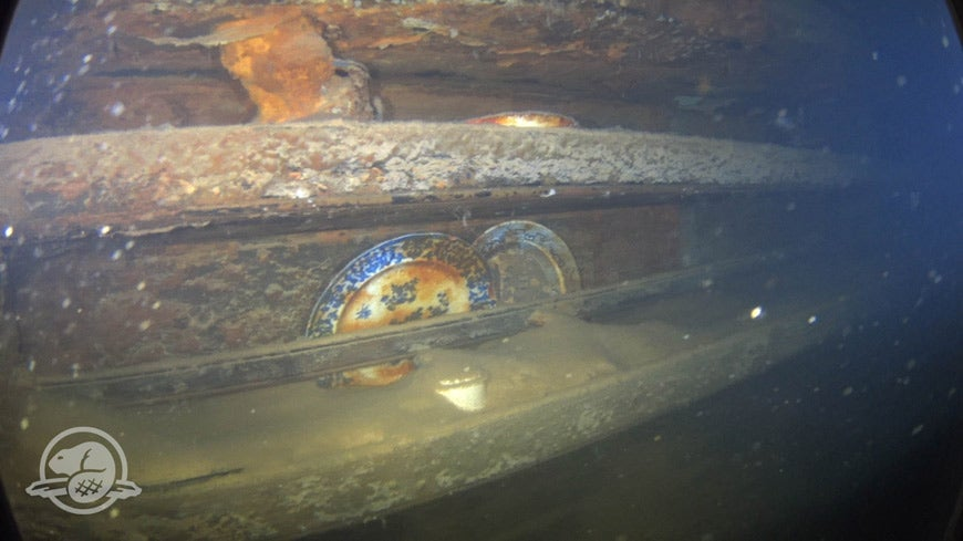 Stunning Video Reveals Conditions Inside Wreck Of Doomed Franklin Expedition