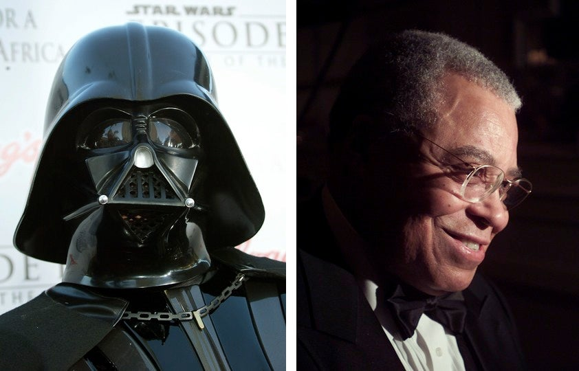 James Earl Jones was originally paid $US7,000 for voicing Darth Vader
