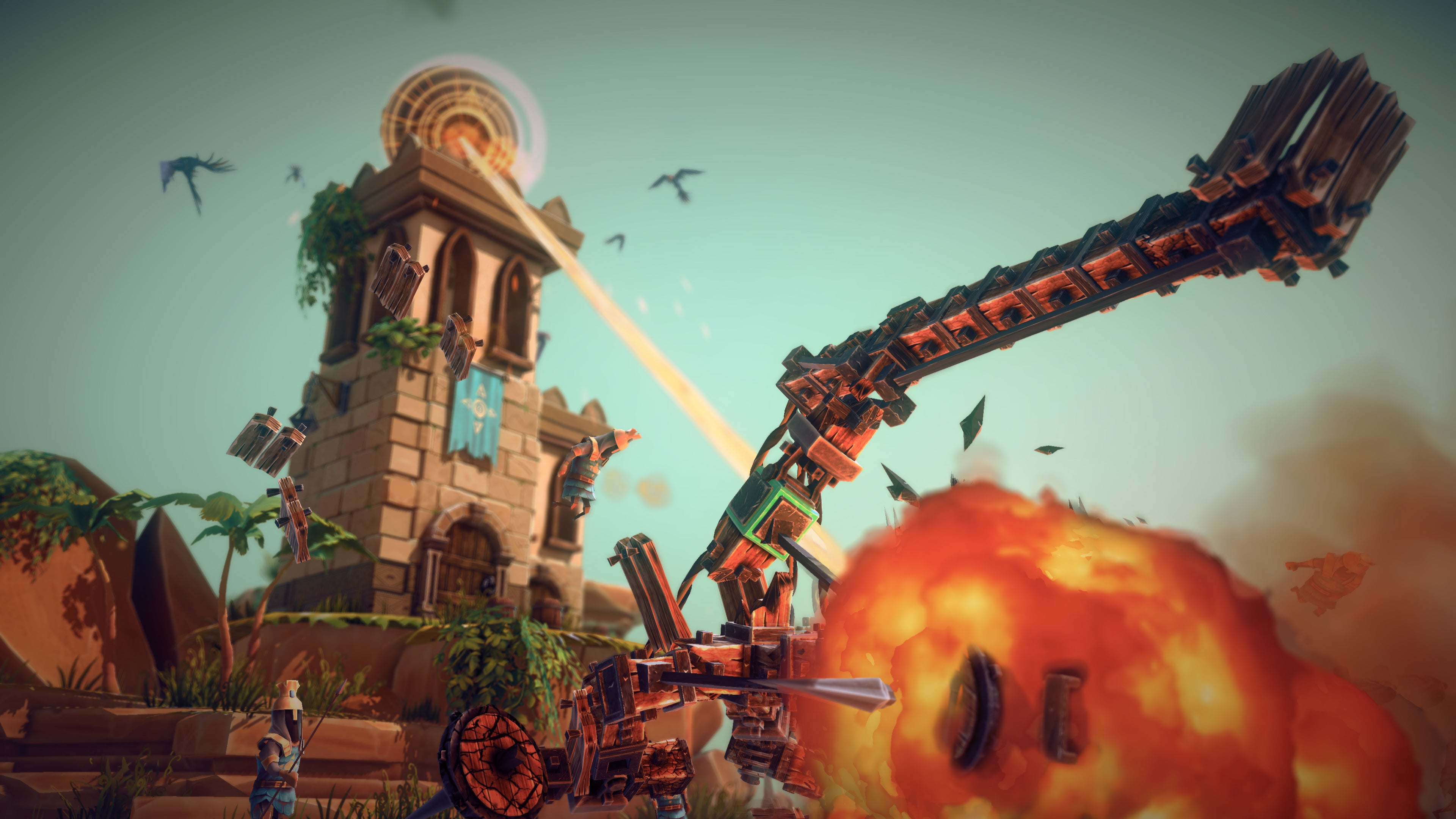 Besiege Is Now 'Out' After Five Years In Early Access