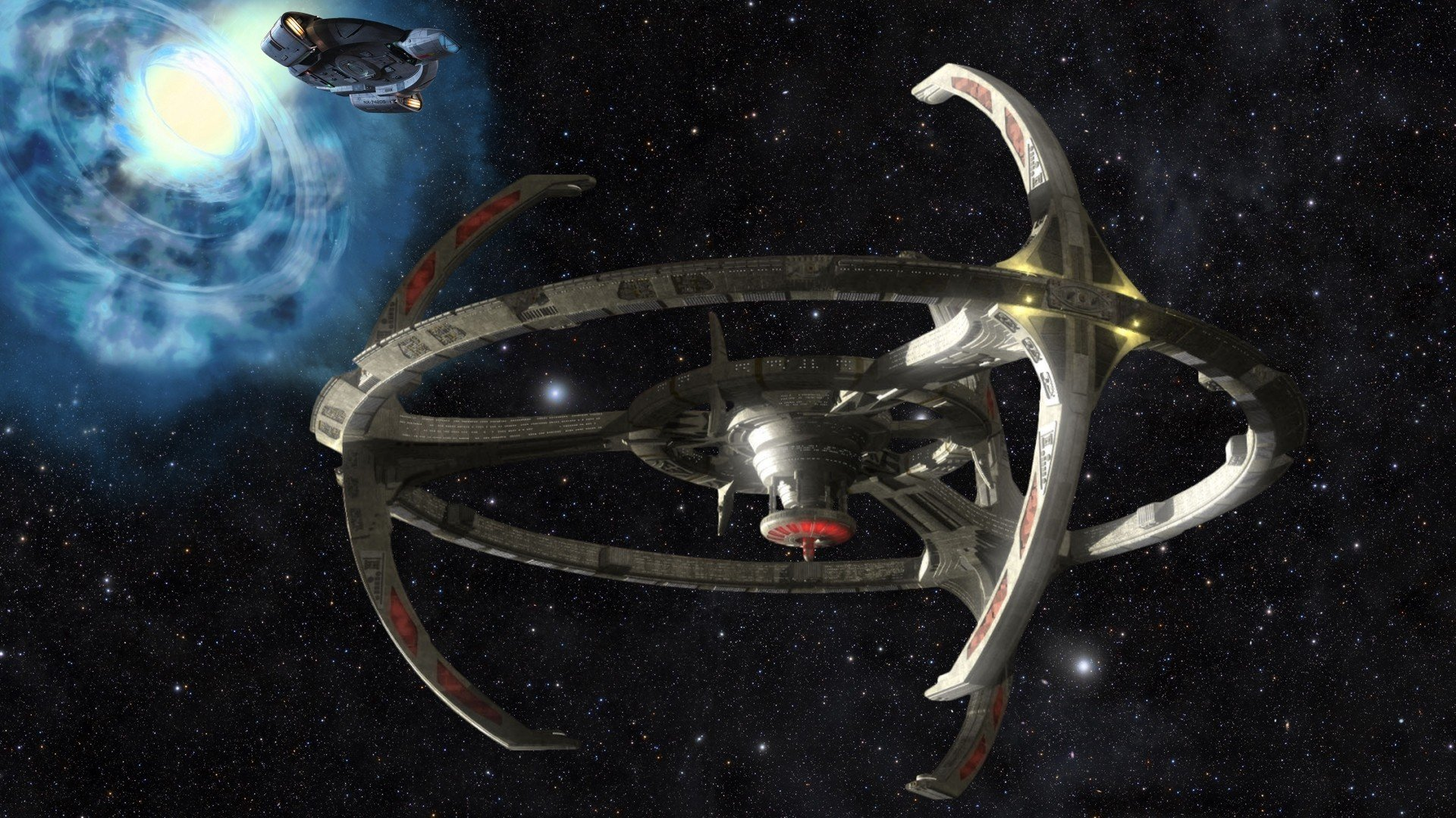 Watch The Cast Of Deep Space Nine Tour Star Trek Online's Digital Version