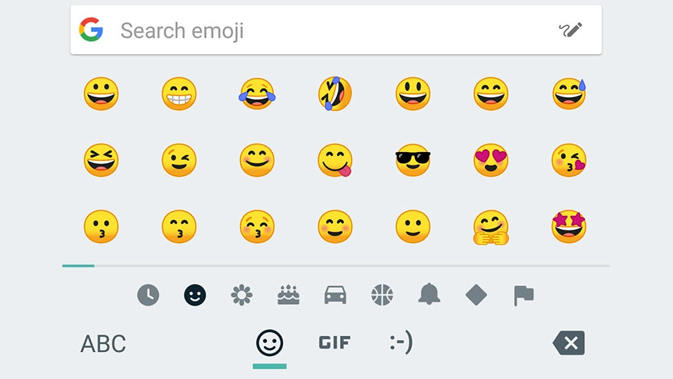 Many Android emojis have a new look.