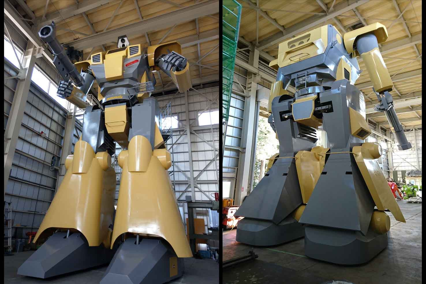 Behold, Japan's Newest Giant Mecha