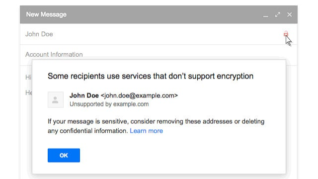 Gmail Will Now Warn You About Potentially Unsafe Messages with Two New Icons