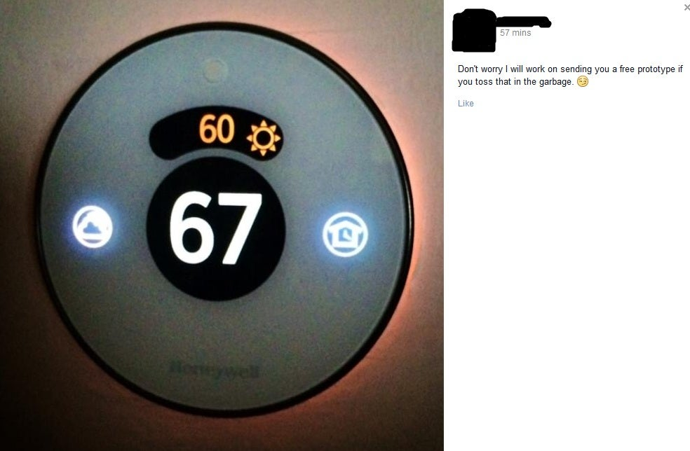 Looks Like Honeywell Is Cooking Up Its Own Nest Thermostat Clone