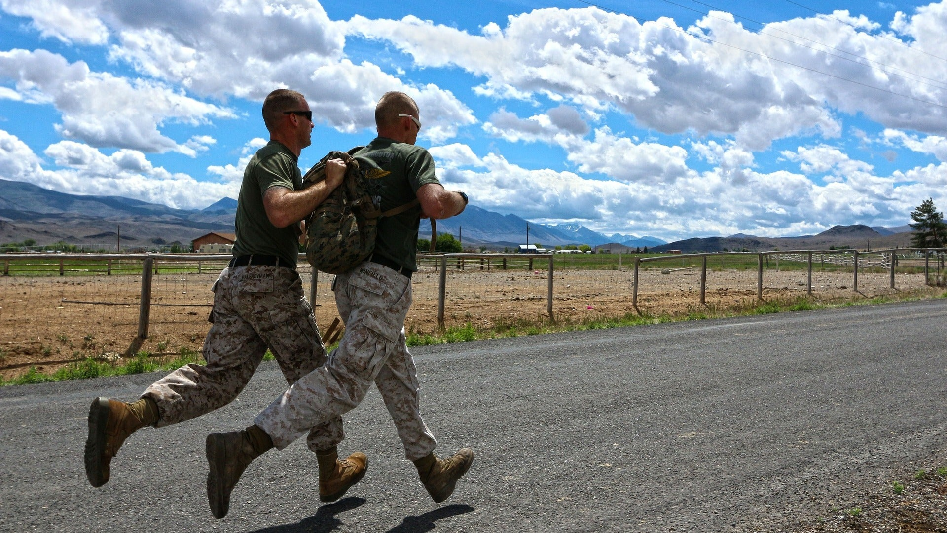 Run Stronger To These Call-And-Response Military Cadence Tracks