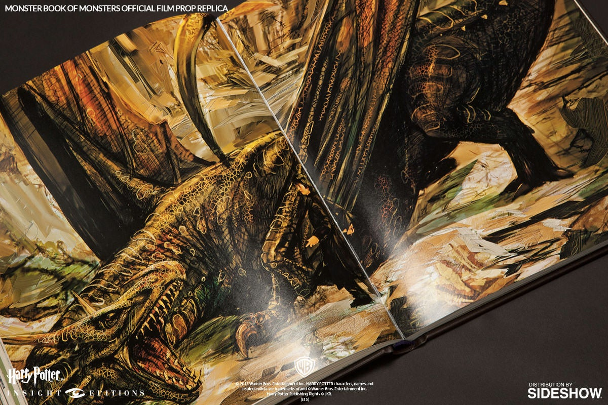 That Monster Book of Monsters Replica Comes With a Real Textbook