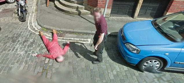 Fake murder on Google Street View attracts attention of real police