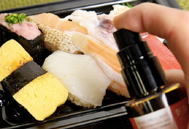 Spray-On Soy Sauce Ensures Your Sushi Isn't Soaked In Salt