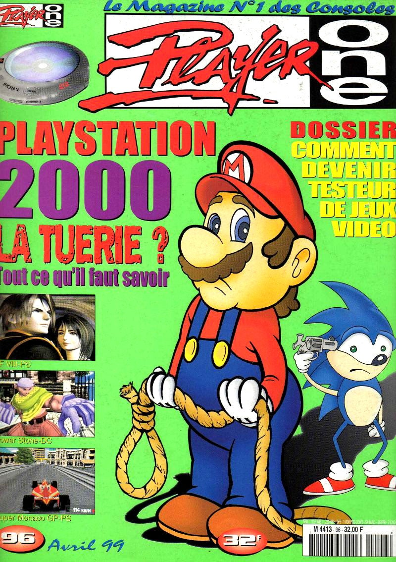 90s Magazine Cover Sure Was Grim