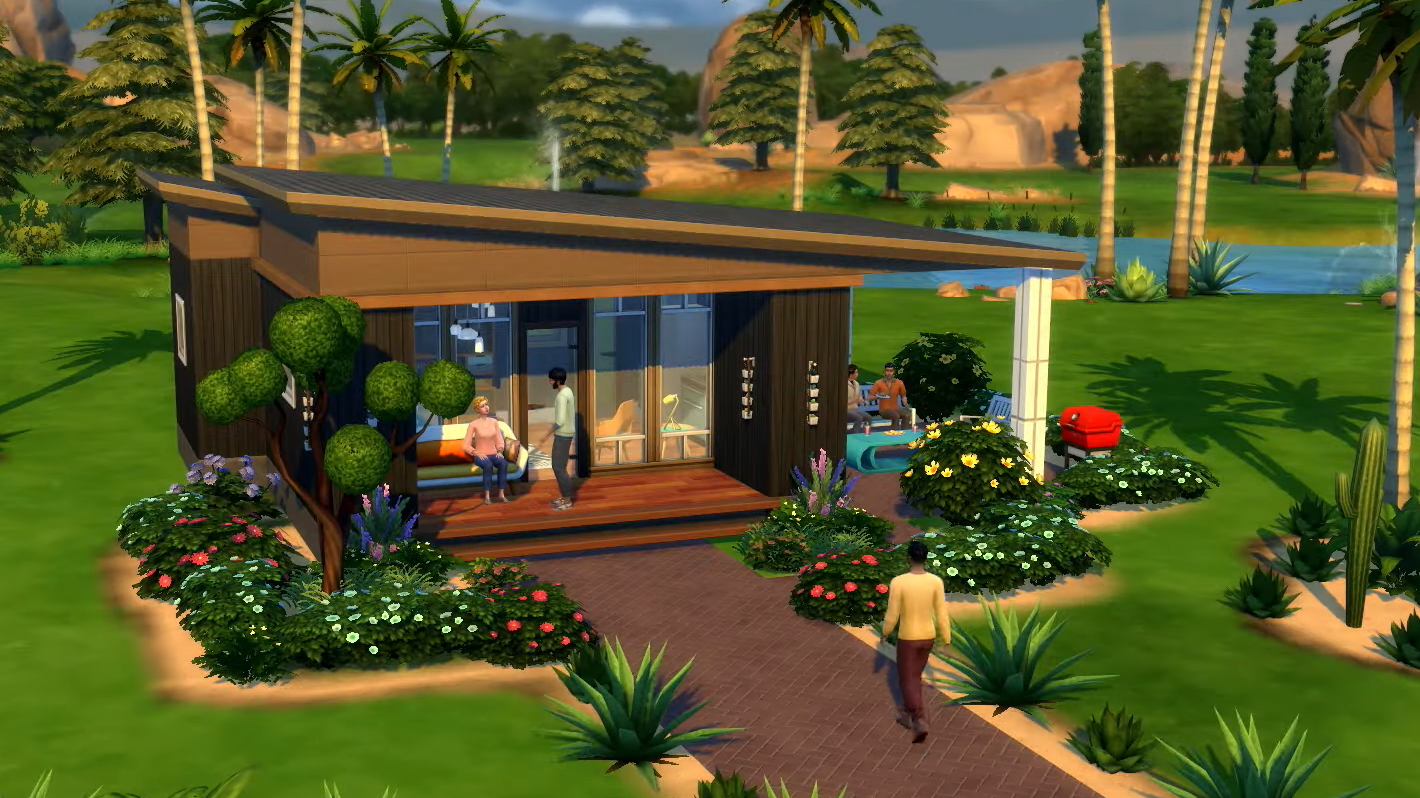 The Sims Is Officially Getting Tiny Houses