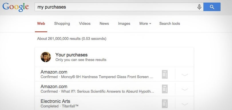 Search Your Email Receipts Right from Google