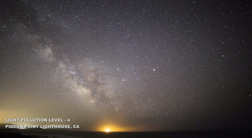 Check Out How The Different Levels Of Light Pollution Screws Us From