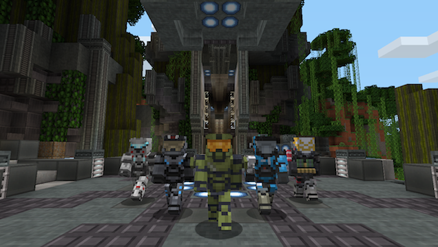 Master Chief Looks So Much Cuter In Minecraft