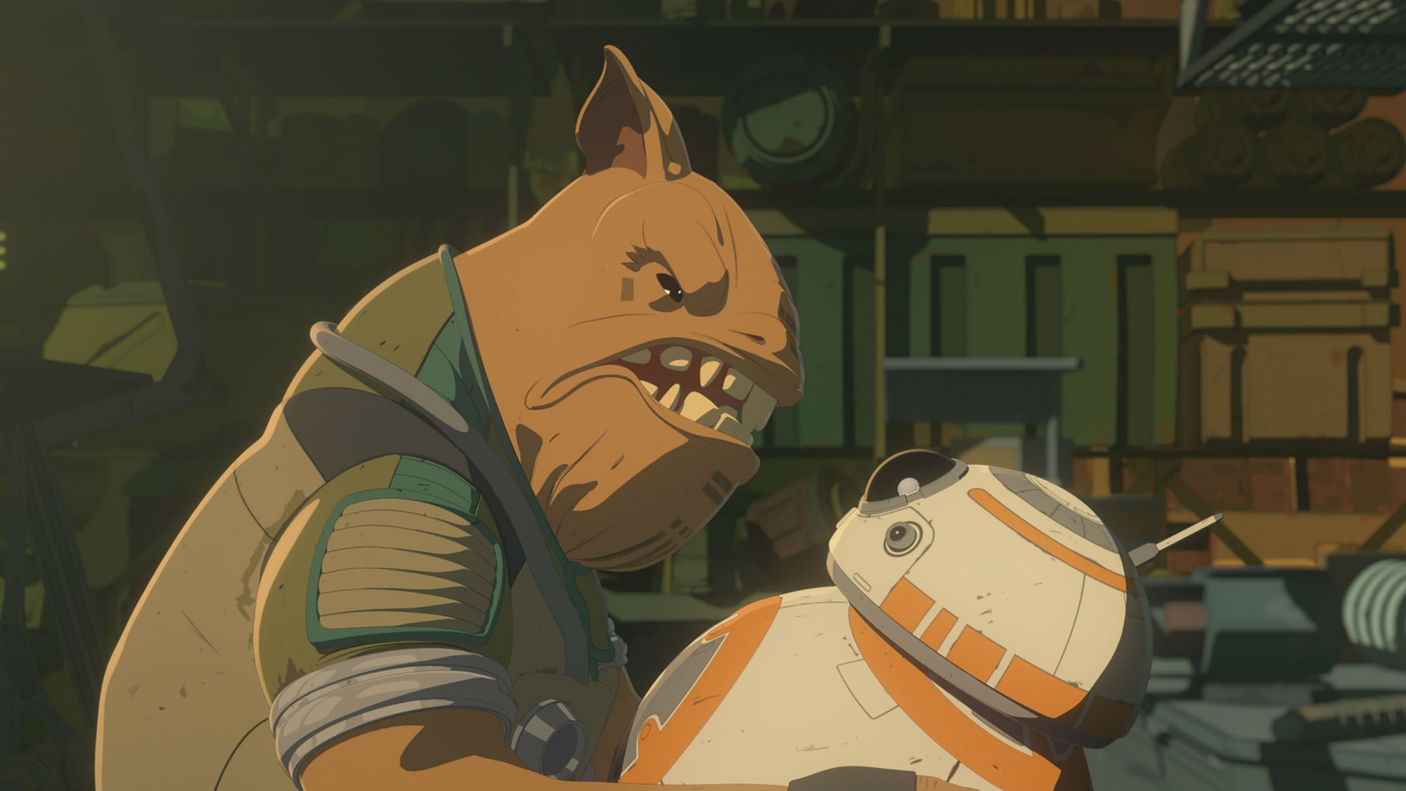 BB-8 Got To Kick Some Arse In This Week's Star Wars Resistance