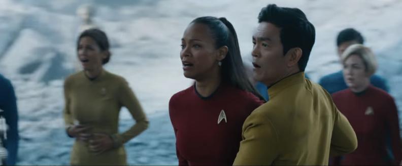 Uhura's New Star Trek Uniform Looks Great