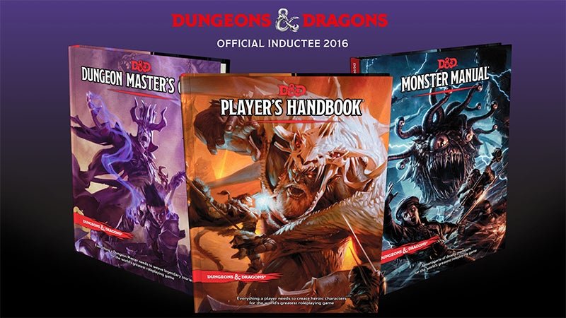 Dungeons & Dragons Earns A Spot In The US National Toy Hall Of Fame