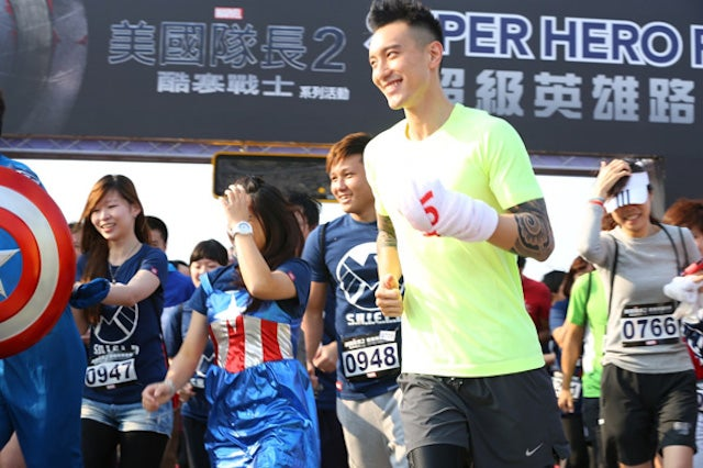 Taiwan Holds a Superhero Race
