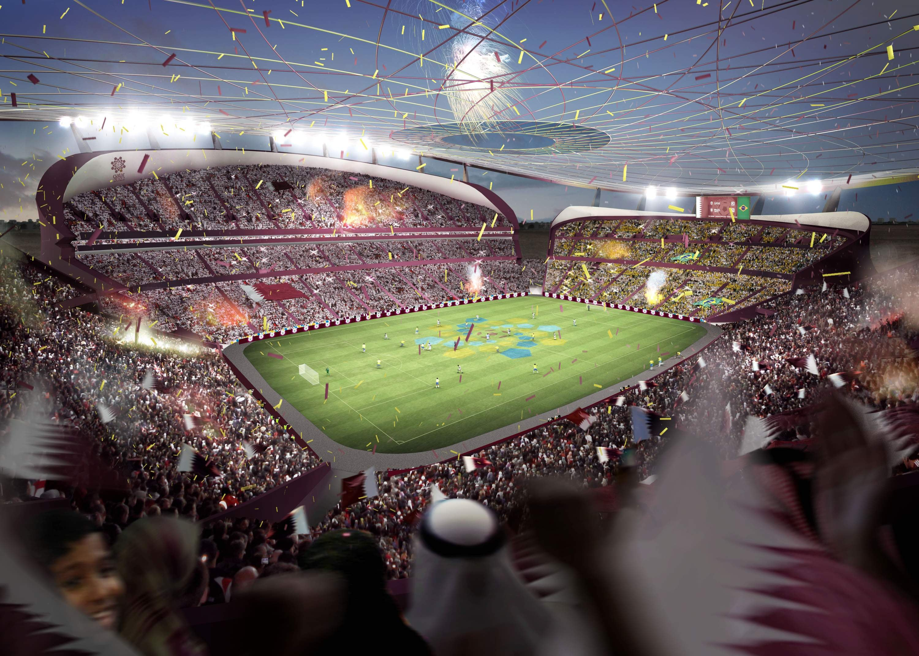 Qatar's $US45 Billion Plan to Build a Brand New City for the World Cup