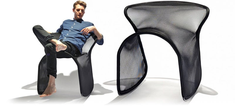 A Saddle-Inspired Chair Lets You Rustle Up Some Relaxation