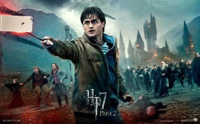 Harry Potter, Now with Added Selfie Sticks