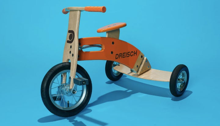 A Tricycle That Leans and Rides More Like a Two-Wheeled Bike