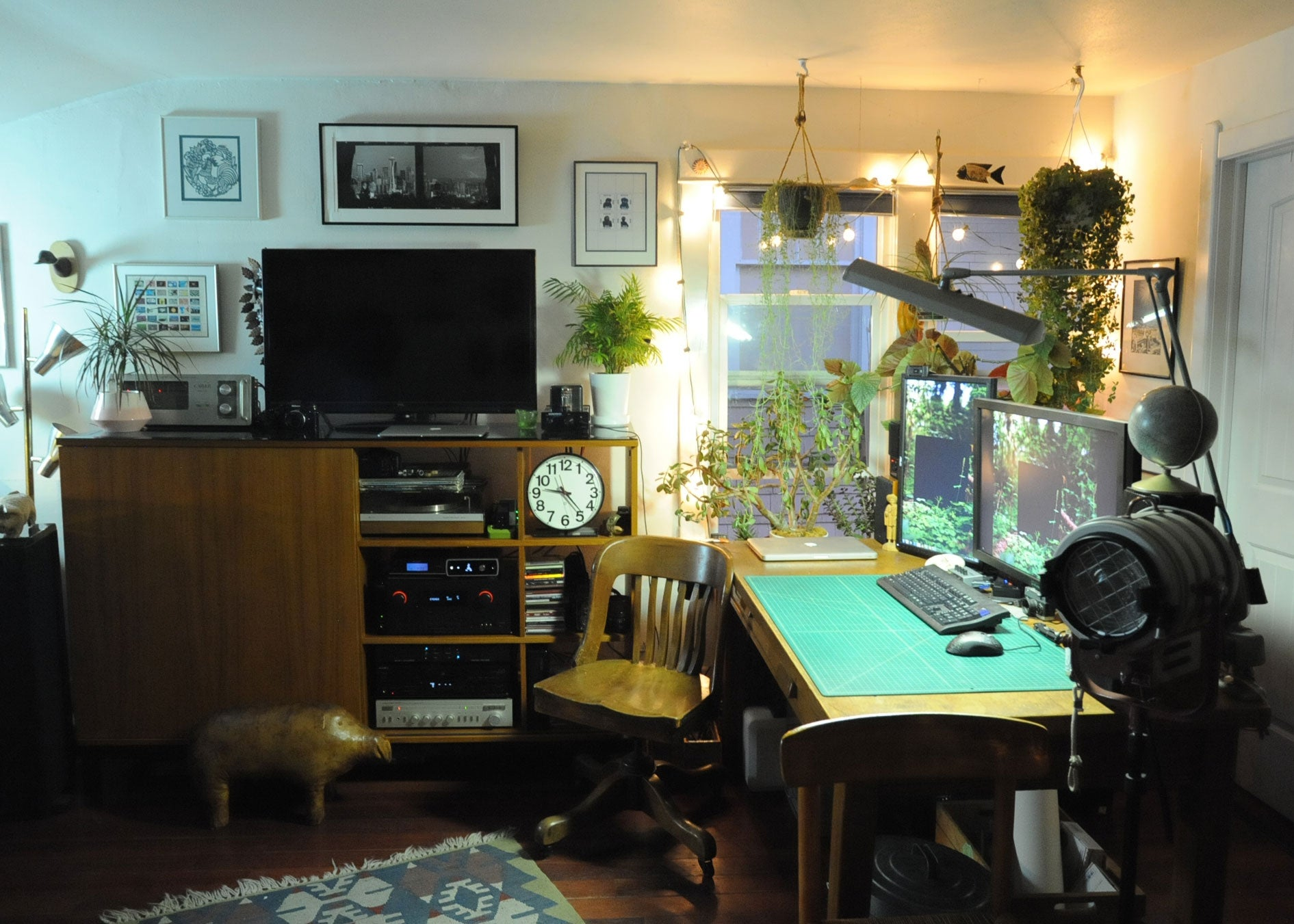 The Audiophile's Workspace