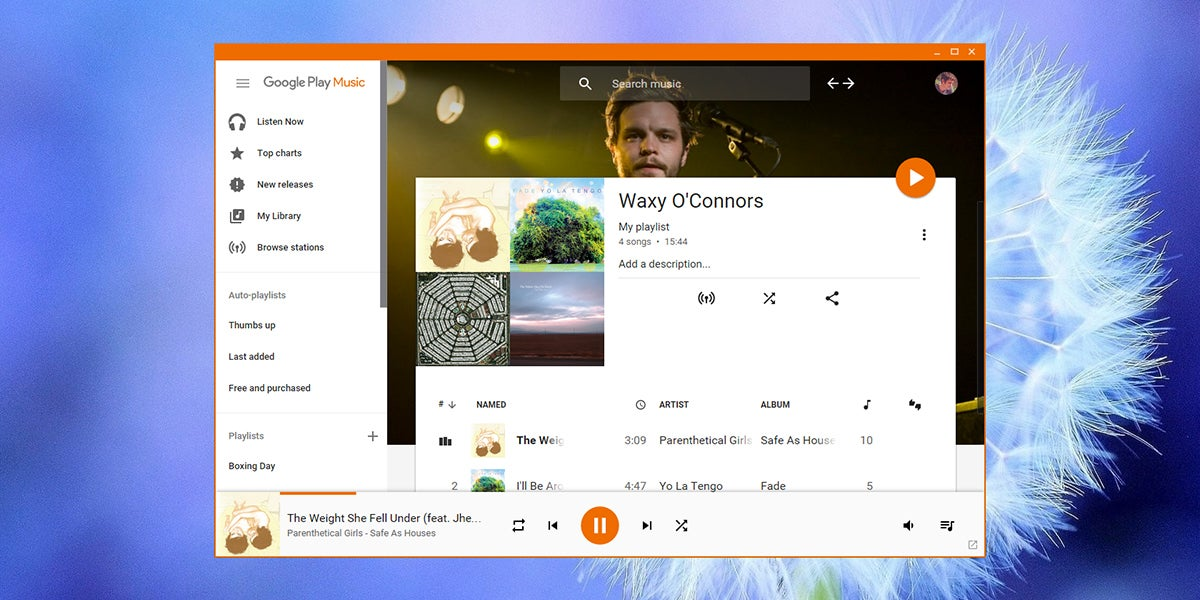 Play Google Play Music From Your Computer Desktop