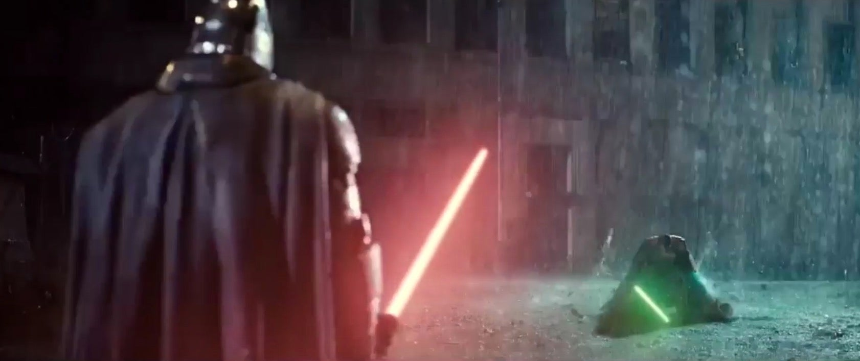 There's One Big Problem With Zack Snyder's Batman V Superman/Star Wars Mashup Video