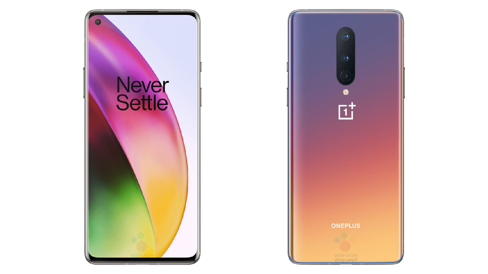 Big Leak Reveals The OnePlus 8's Design And Specs Ahead Of Launch
