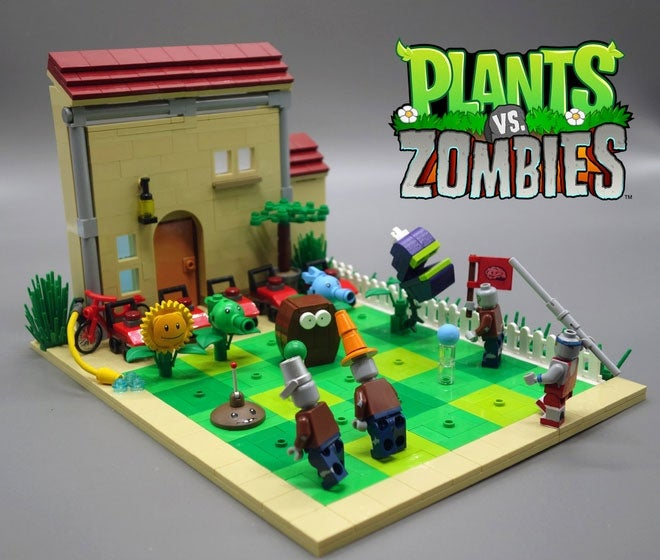 Plants vs Zombies vs LEGO