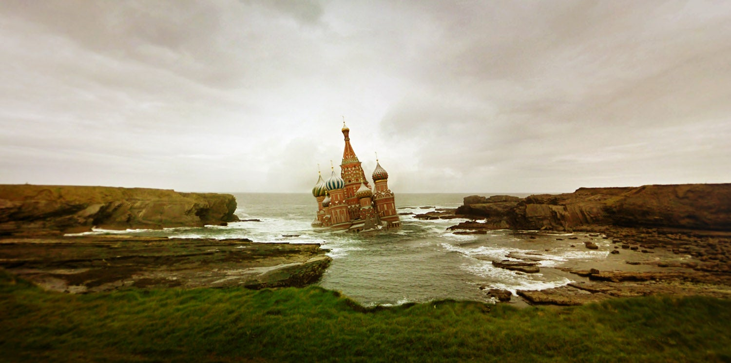 These Dream Worlds Are Made From Boring Google Street View Scenes