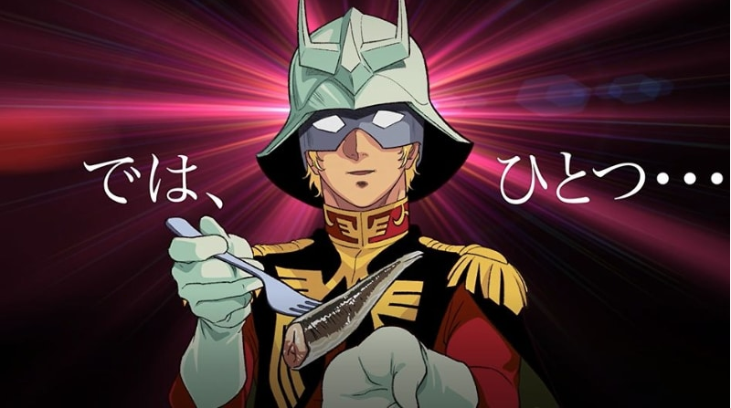 Gundam Branding Runs Amok With Char Aznable Sardines
