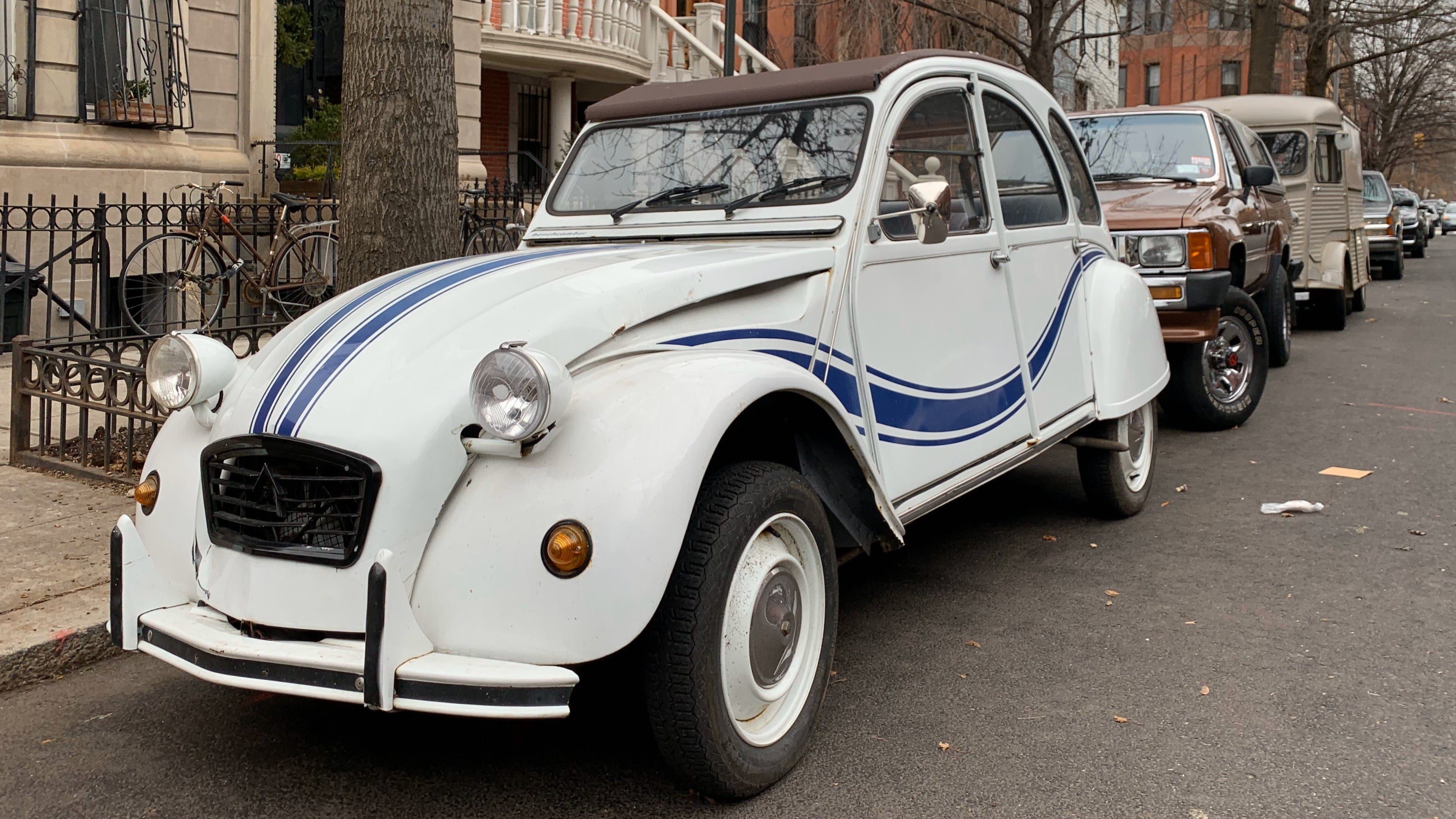 These Citroëns Sitting In Brooklyn No Doubt Have Stories To Tell