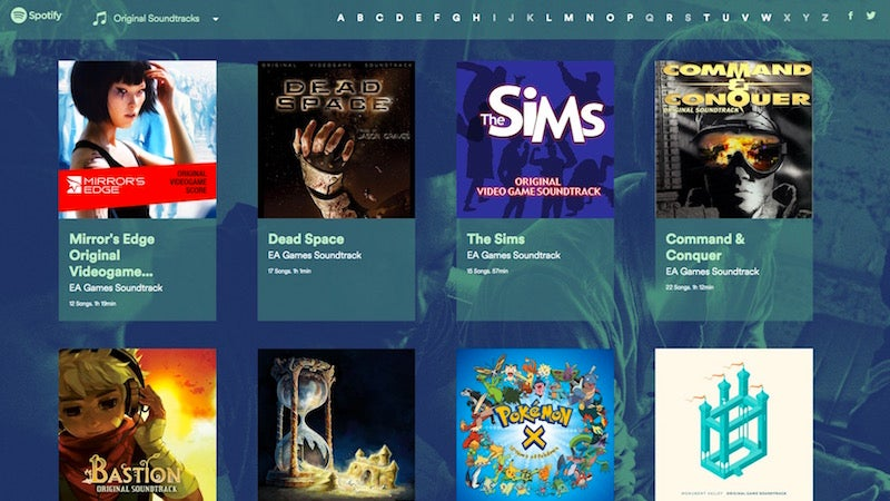 Spotify Gaming Is A Portal To All Of Spotify's Video Game Soundtracks