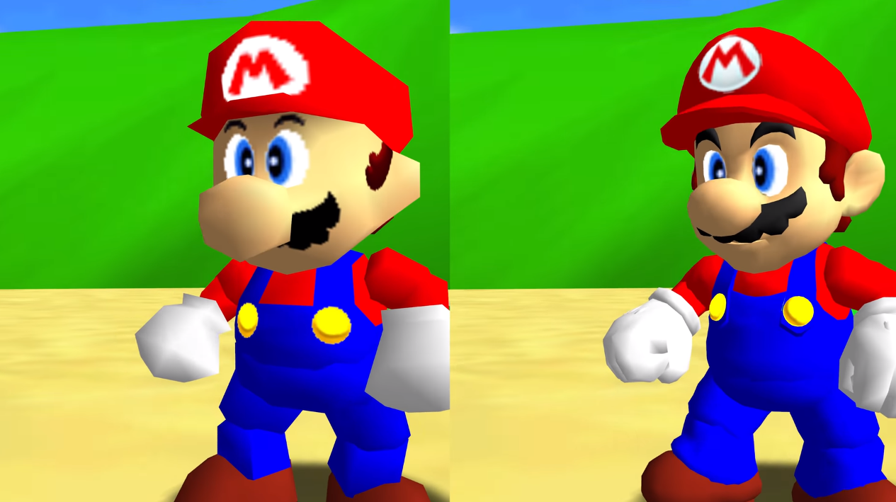 Mario 64's Unofficial PC Port Will Look Glorious Once Modders Get Done With It