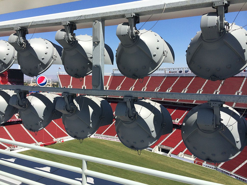 Behind the Scenes at the San Francisco 49ers' New High Tech Stadium