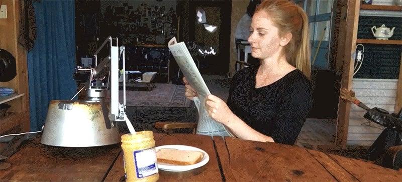 Simone Giertz's New Robot Is Her Shittiest Yet