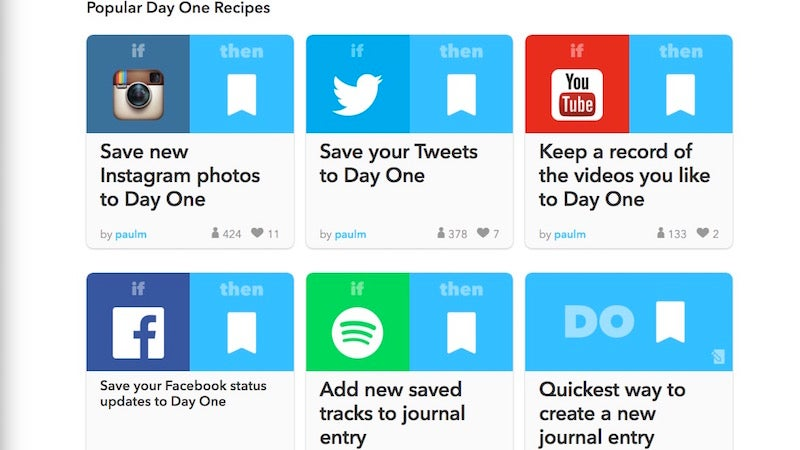 Day One 2, the Mac and iPhone Journaling App, Adds IFTTT Integration