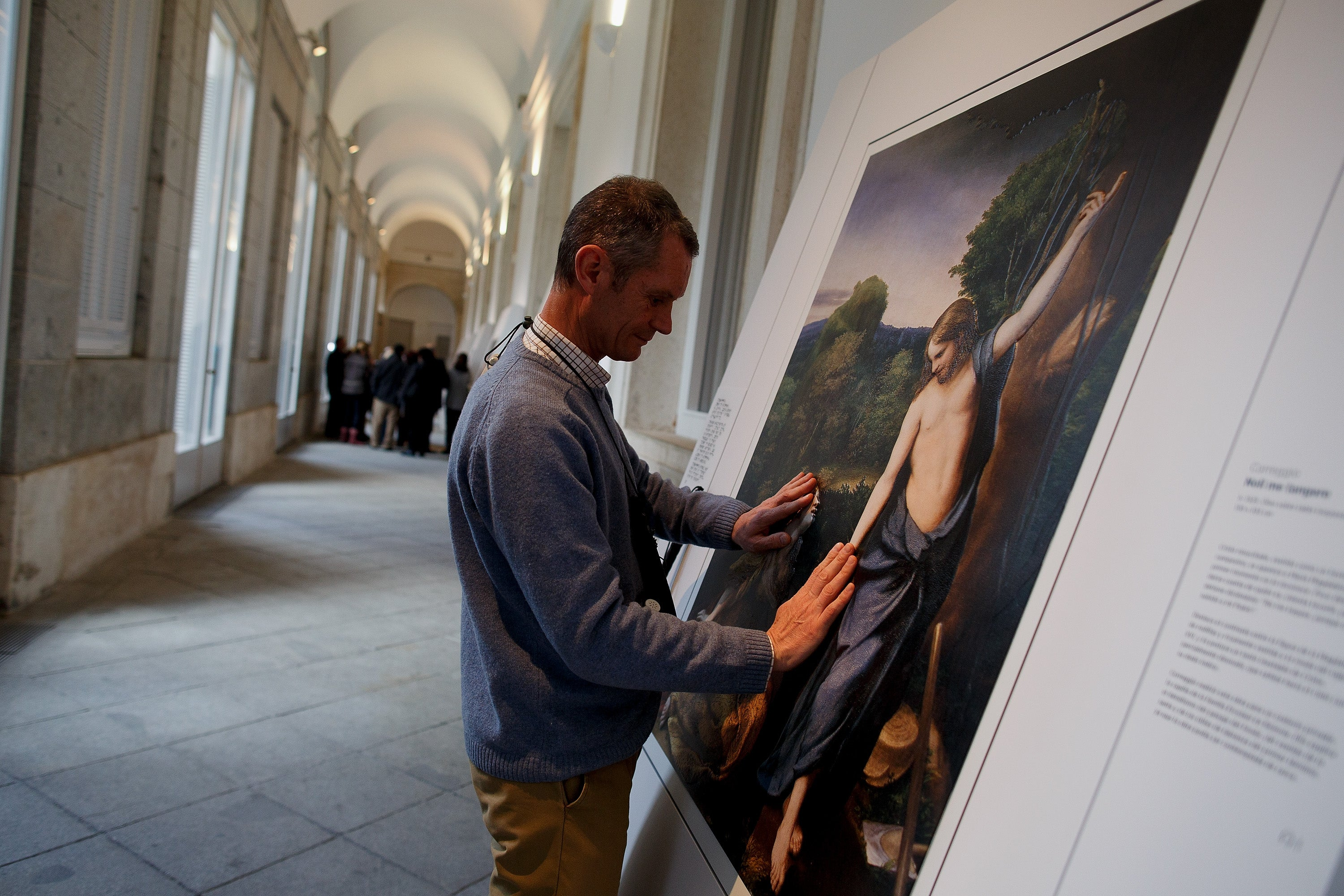 New Printing Tech Allows the Blind to Touch Priceless Paintings