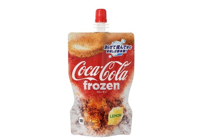 Frozen Lemon Coca-Cola Released In Japan