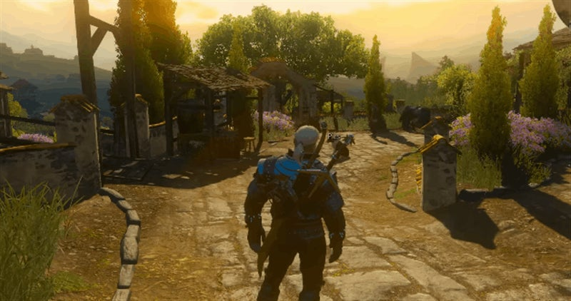 The Witcher 3 As A First-Person Game