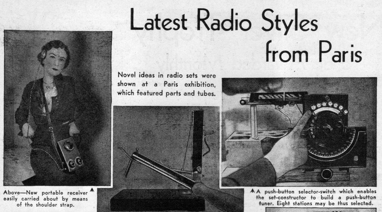 The Futuristic Walkman Of 1938 Wasn't Very Portable
