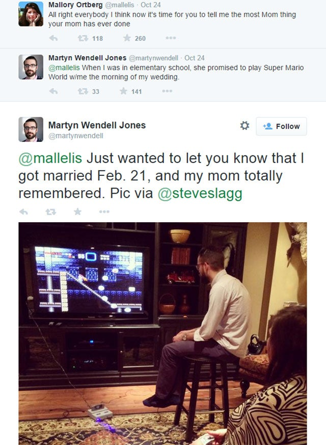 Mum Honours Pledge, Plays Mario With Son On Wedding Day