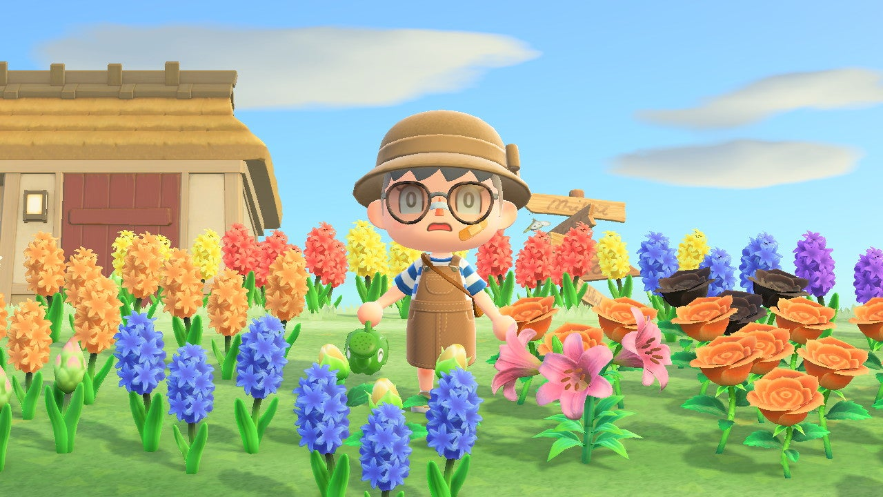 Forget Murder Hornets, My Animal Crossing Island Is Drowning In Self-Inflicted Flowers